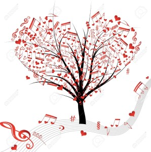15600177-Music-tree-hearts-note-symbol-vector-on-wave-lines-Design-love-element-Valentine-abstract-background-Stock-Vector